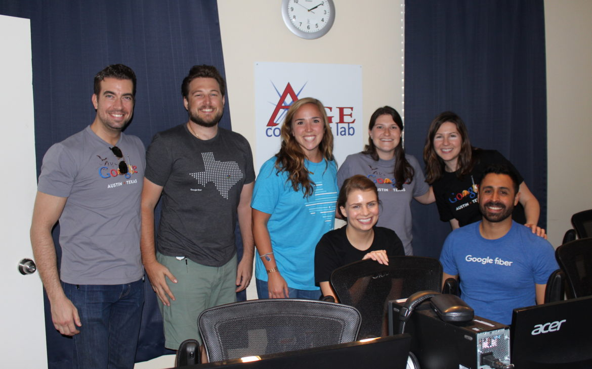 Google Fiber volunteer team